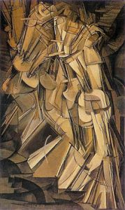 Marcel Duchamp Nude Descending a Staircase 1912