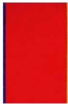 Barnett Newman Who's Afraid of Red Yellow and Blue 1966